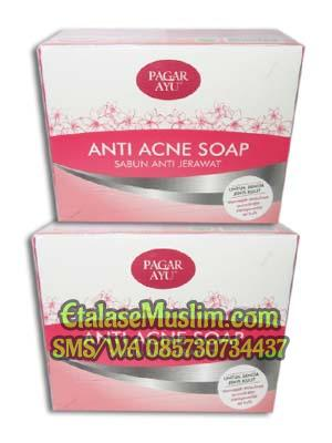 Anti Acne Soap Pagar Ayu (sabun anti jerawat)