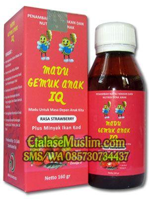 Madu Gemuk Anak IQ Rasa Strawberry