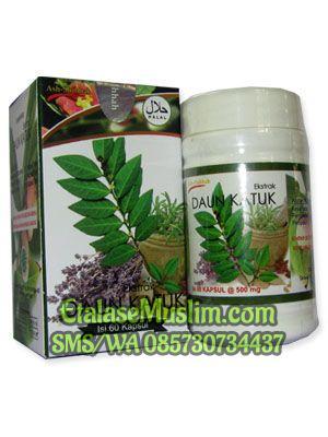 jual ekstrak daun katuk 60 kapsul ash shihhah etalase