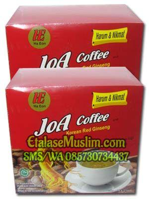 Joa Coffee And Korean Red Ginseng