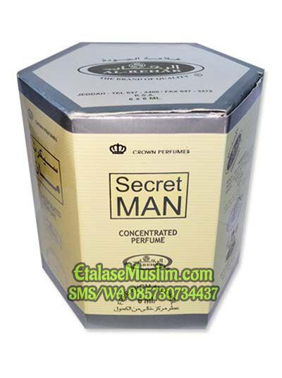 Parfum/Minyak Wangi Al Rehab 6 ml - SECRET MAN