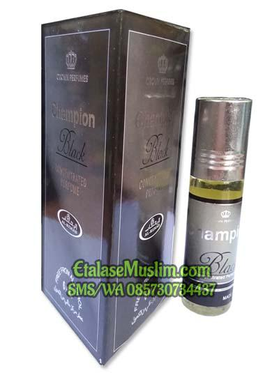 Parfum/Minyak Wangi Al Rehab 6 ml - CHAMPION BLACK