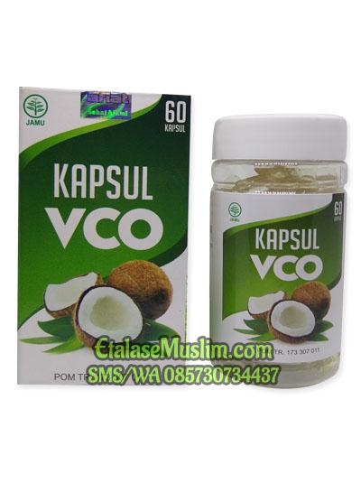 [isi 60] Kapsul VCO (Virgin Coconut Oil) Al Afiat