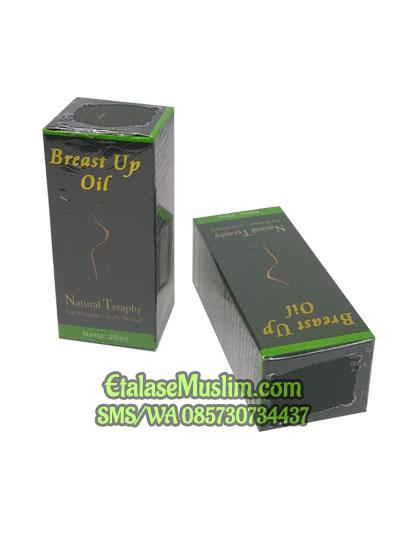 Breast Up Oil Natural Therapy Pengencang I Pembesar Payudara