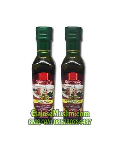 Minyak Zaitun ANDALUSIA Extra Virgin Olive Oil Rumman 250 ml
