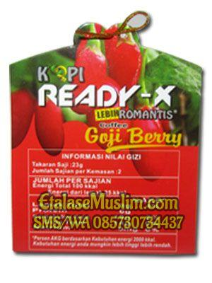 Kopi Ready-X Gojiberry (Kopi Romantis New)