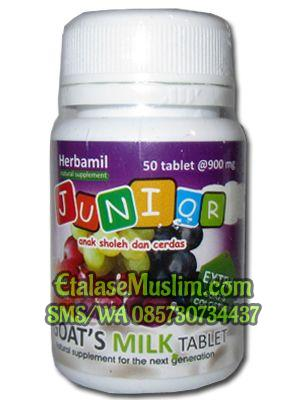 Herbamil Junior Goats Milk Tablet rasa Anggur