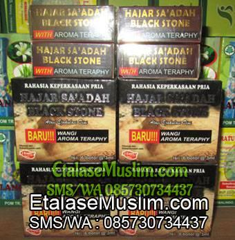 Hajar Saadah Black Stone With Aroma Teraphy
