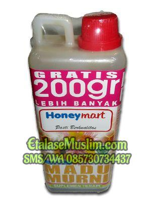 Madu Multiflora 900 gr + 200 gr  Honeymart