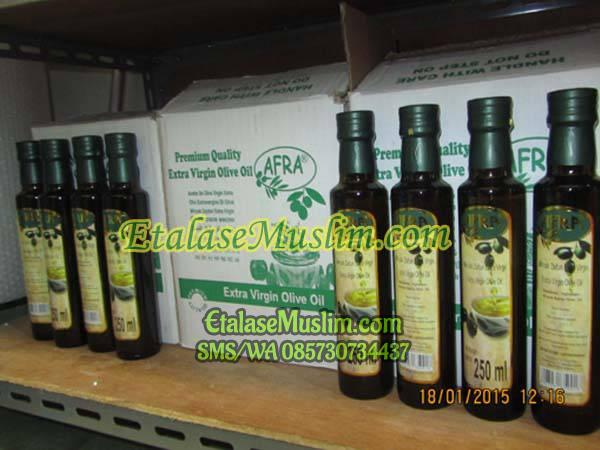 Minyak Zaitun Extra Virgin AFRA 250 ml