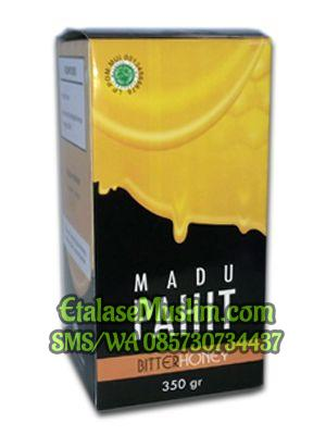 Madu Pahit Bitter Honey 350gr Herbal Indo Utama