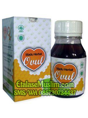 Madu Herbal Ovul SK 350gr Herbal Indo Utama ( Subur Kandungan )