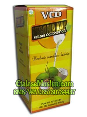 Vicoma Kap Virgin Coconut Oil (VCO) 100 Kapsul