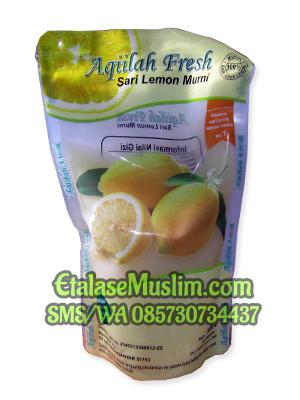 Aqiilah Fresh Sari Lemon Murni 500ml