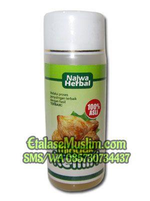 jual minyak kemiri 60 ml najwa herbal - etalase muslim Gambar Minyak Kemiri Herbal