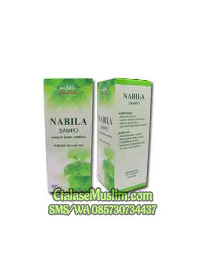 Nabila Sampo Original Shampoo Anti Kutu Rambut 60 ml