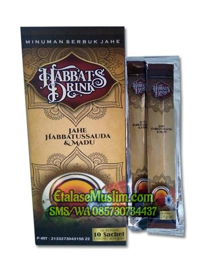 Minuman Serbuk Jahe Habbats Drink 3 in One