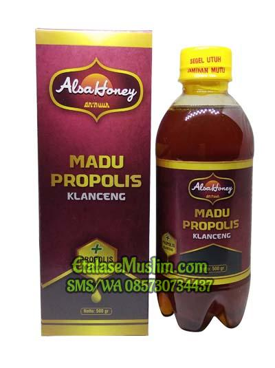 Alsa Honey - MADU PROPOLIS KLANCENG 500 gr