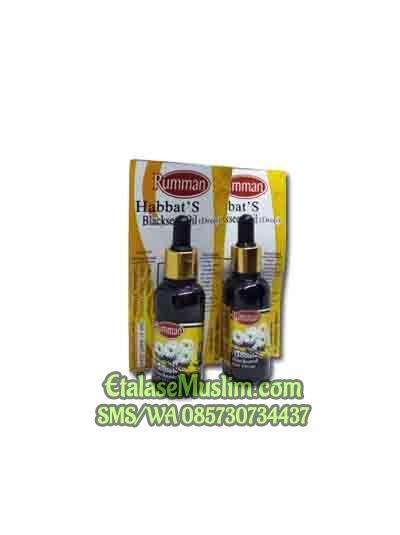 30 ML - Habbat's Blackseed Oil Drop Rumman Minyak Habbatussauda tetes
