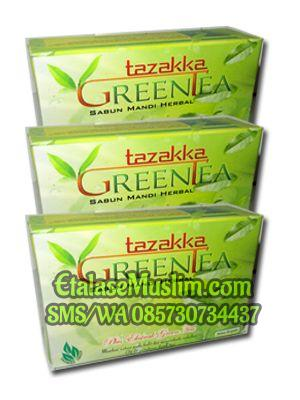 Sabun Mandi Herbal Green Tea Tazakka